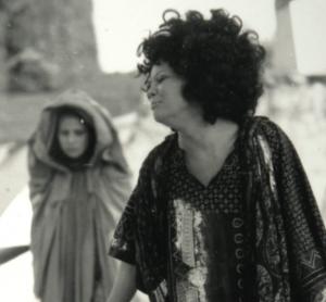Medea 1972. Valeria Moriconi è Medea. Foto G. Maiorca. Archivio INDA