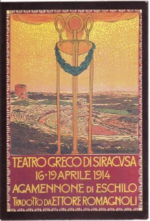 Agamennone di Eschilo 1914