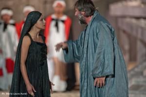 Antigone, Maccarrone Creonte, Donadoni-ph Maria Laura Aureli