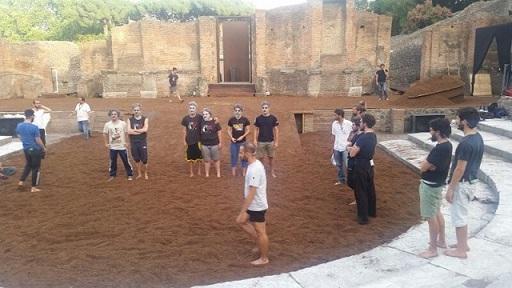 Teatro Grande di Pompei-Prove Spettacoli Classici