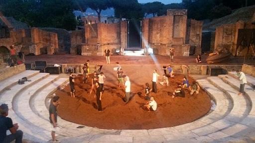 Teatro Grande di Pompei -Prove Spettacoli