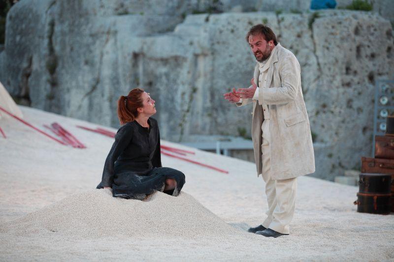 Medea, Valentina Banci e Filippo Dini