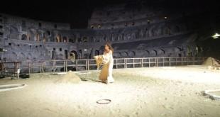 Colosseo, Valentina Banci -ph Maurizio Zivillica