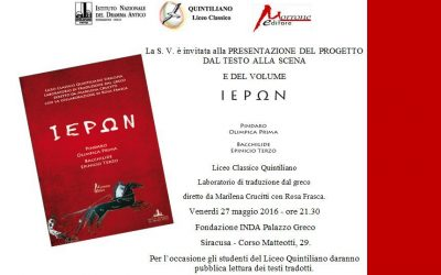 L'Accademia incontra la città quattro esibizioni a Palazzo Greco