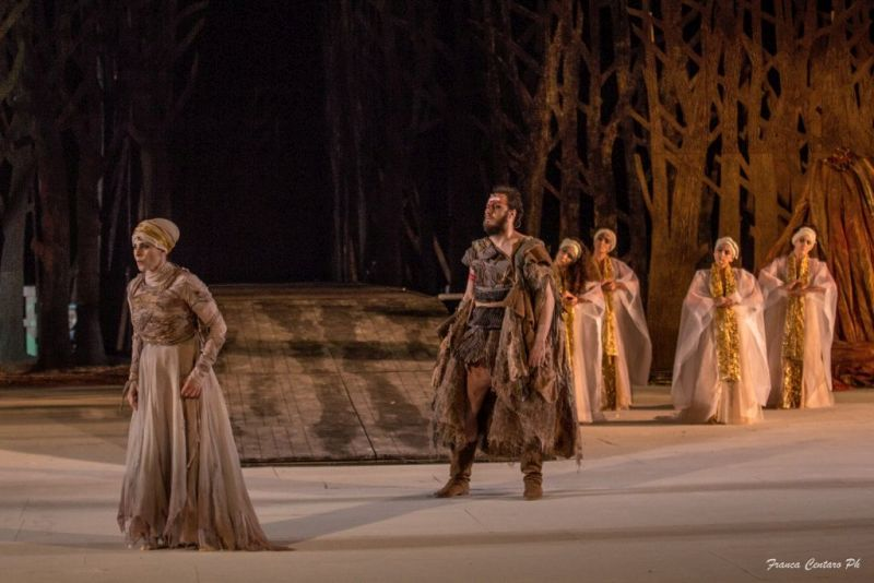 Fedra di Seneca al Teatro Romano di Ostia Antica