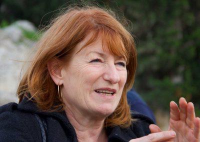 La regista Muriel Mayette-Holtz in Teatro - ph. Franca Centaro