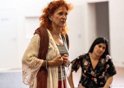 Le prove: Elisabetta Pozzi - ph. Franca Centaro