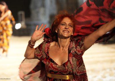 Elisabetta Pozzi (Lisistrata) - ph. Maria Pia Ballarino