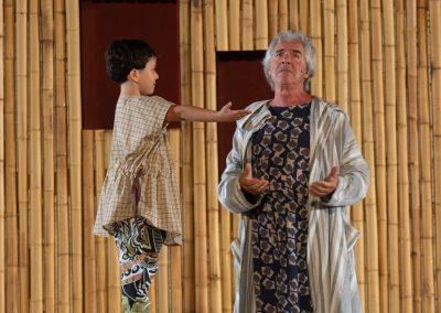 Giorgio Signorelli (figlio di Cinesia) e Tullio Solenghi (Cinesia) - ph. Franca Centaro