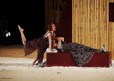 Giovanna Di Rauso (Mirrina) e Tullio Solenghi (Cinesia) - ph. Maria Pia Ballarino