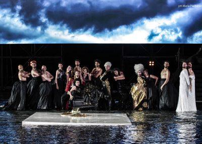 Il Cast al completo dell'Elena - ph. Maria Pia Ballarino