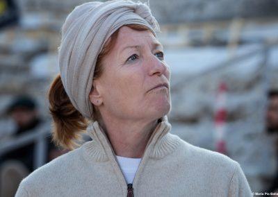 La regista Muriel Mayette-Holtz - ph. Maria Pia Ballarino