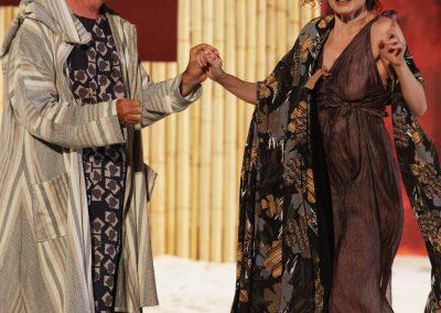 Tullio Solenghi (Cinesia) e Giovanna Di Rauso (Mirrina) - ph. Maria Pia Ballarino