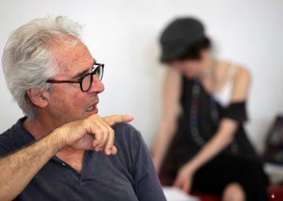 Le prove: il regista Tullio Solenghi - ph. Maria Pia Ballarino