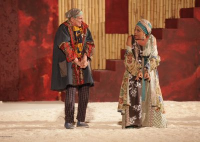 Vittorio Viviani (Dracete) e Tiziana Schiavarelli (Stratillide) - ph. Maria Pia Ballarino