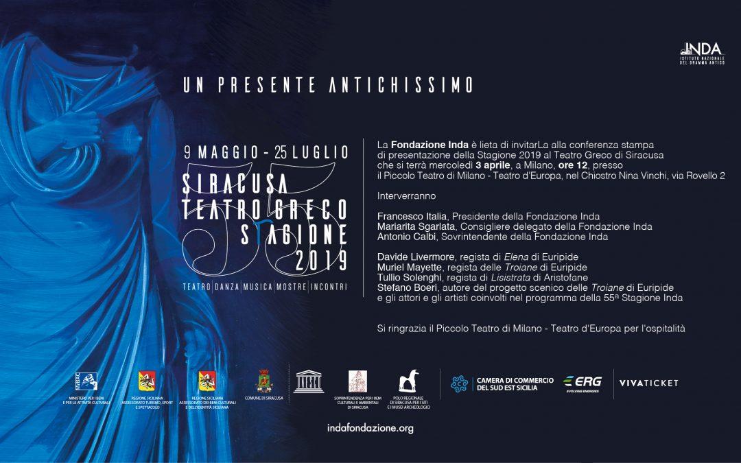 Seconda conferenza stampa di presentazione della Stagione teatrale