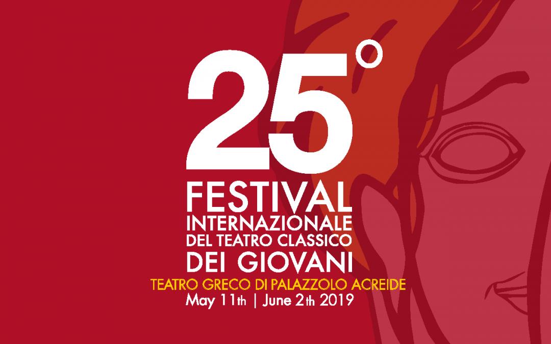 25° Festival Internazionale del Teatro Classico dei Giovani di Palazzolo Acreide: il calendario di tutti gli spettacoli