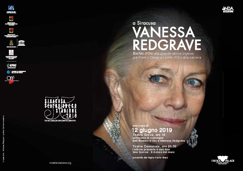 Vanessa Redgrave al Teatro Greco di Siracusa