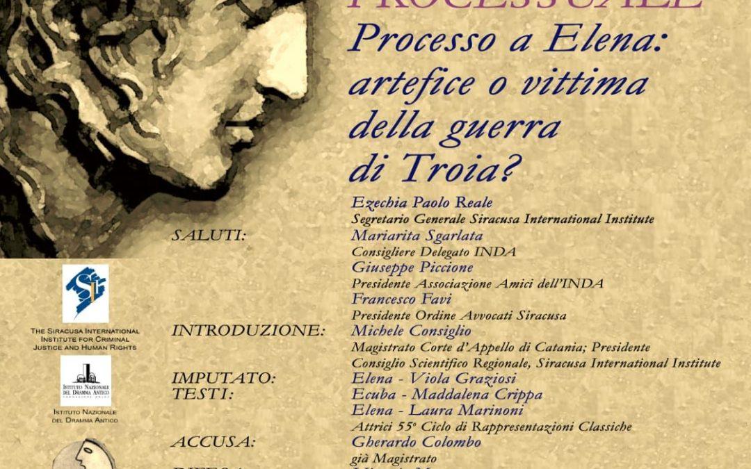 AGÒN 2019. Processo a Elena: artefice o vittima della guerra di Troia?