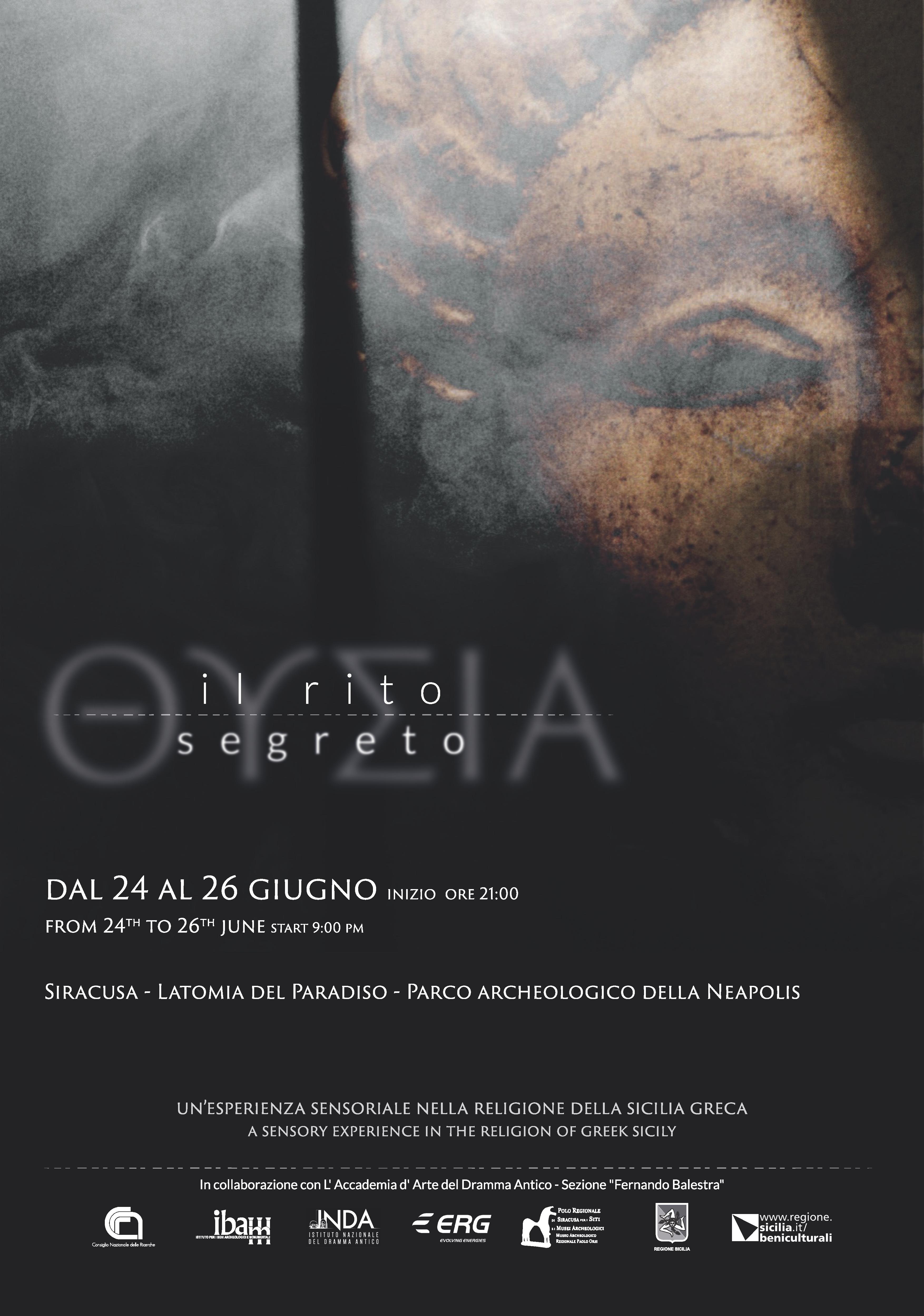 THYSÌA: il rito segreto. Un'esperienza sensoriale nella religione della Sicilia greca