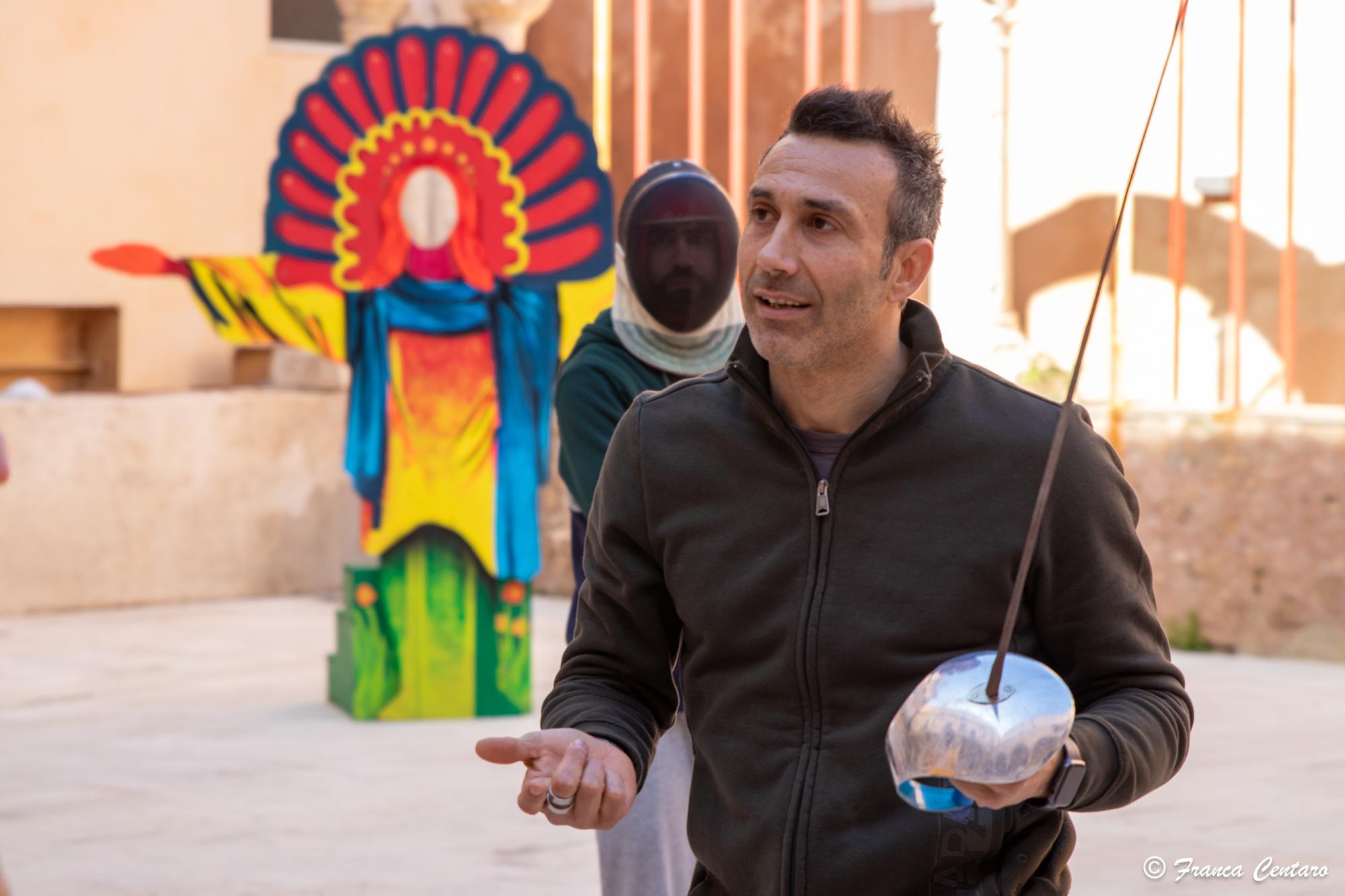 Accademia d'arte del dramma antico: a lezione con il campione del mondo Stefano Barrera