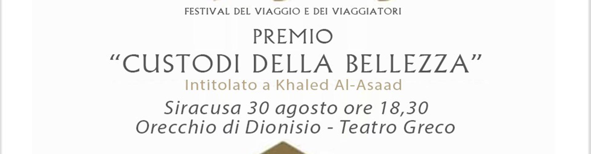 """Premio """"Custodi della Bellezza"""" a Fiammetta Borsellino"""