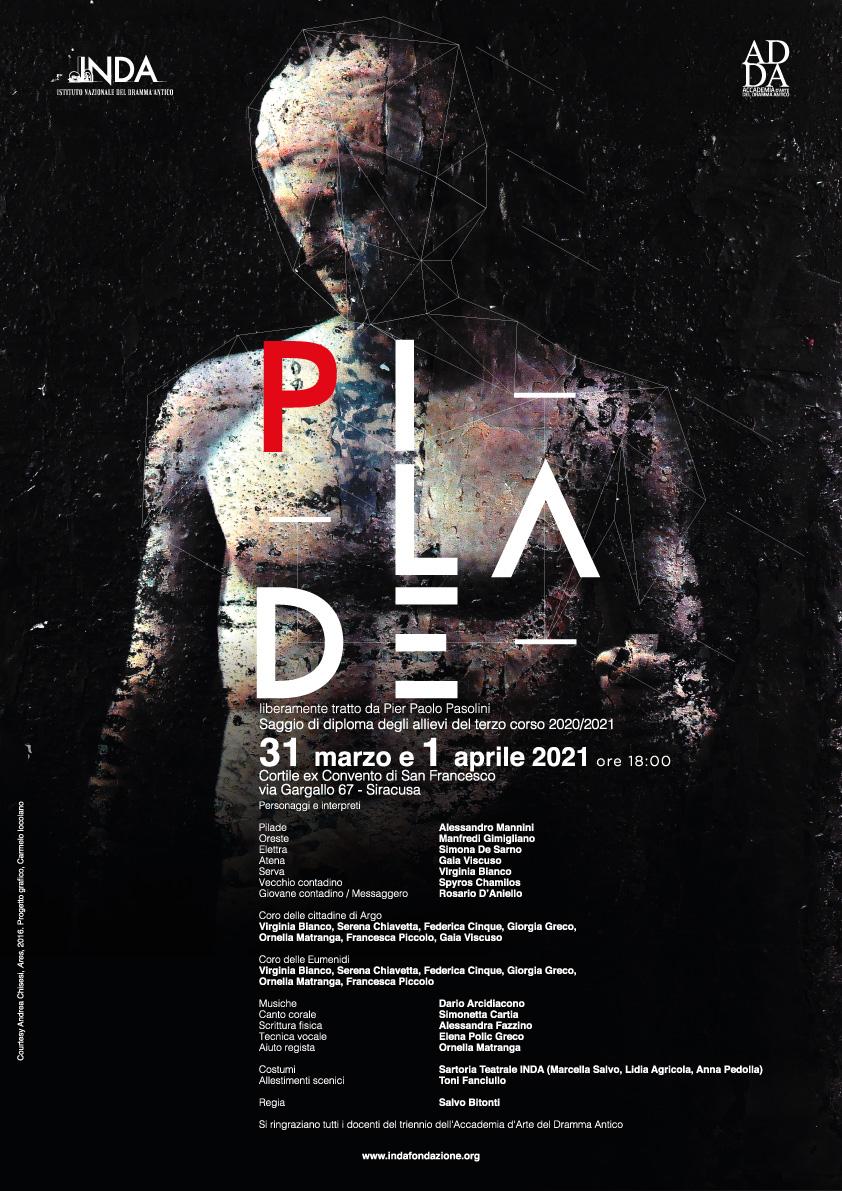Accademia d'arte del dramma antico, Yourcenar e Pilade per i saggi del II e III anno