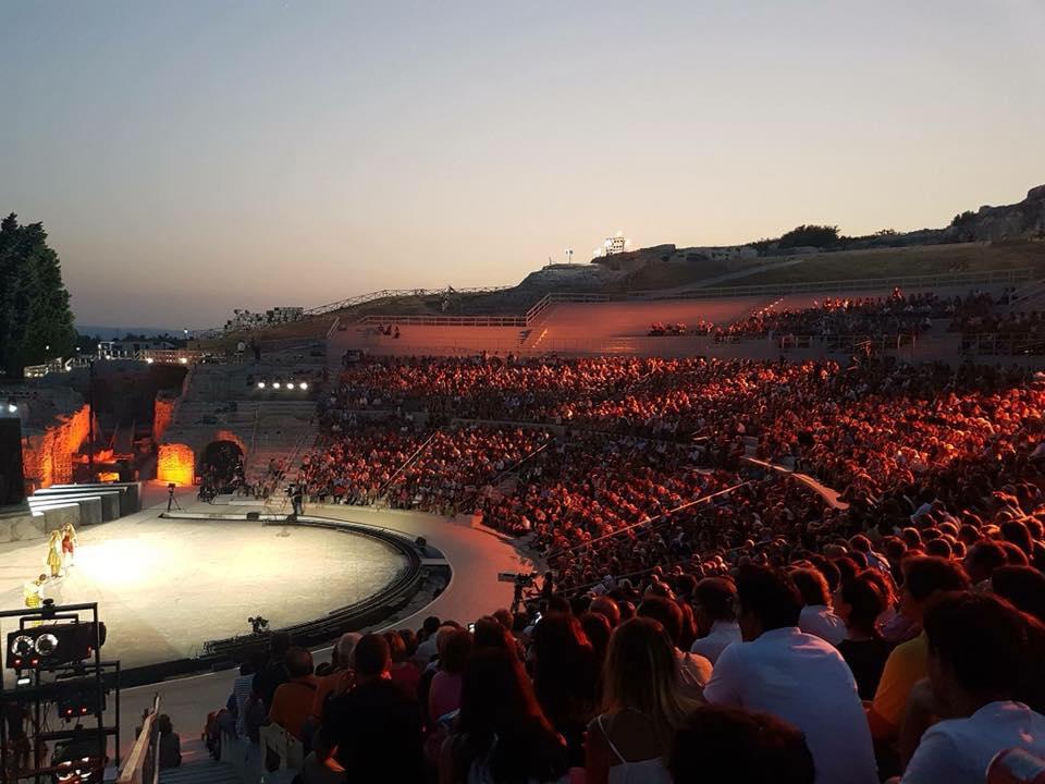 Teatro Greco di Siracusa Il 20 agosto consegna del Premio Fondazione Claudio Nobis / Fondazione Inda
